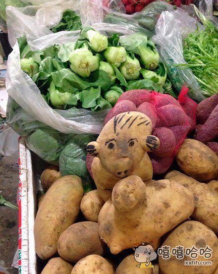 发现一画风奇怪的土豆