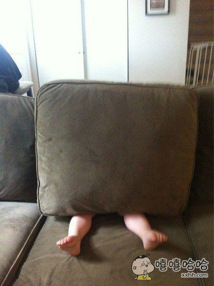 熊孩子教你怎样玩捉迷藏。。