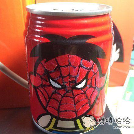 这是谁干的,蜘蛛侠的铁粉吗?
