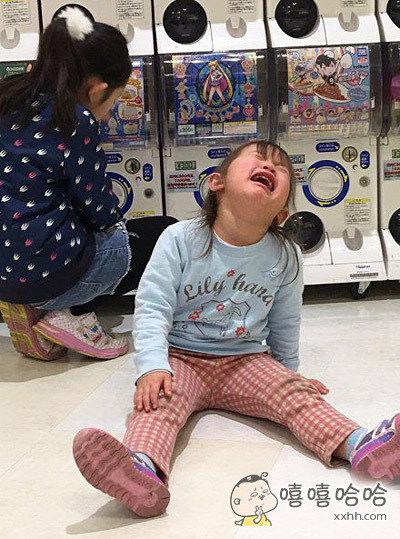 到商场后的我,啊,啊,啊,我要买玩具!啊!