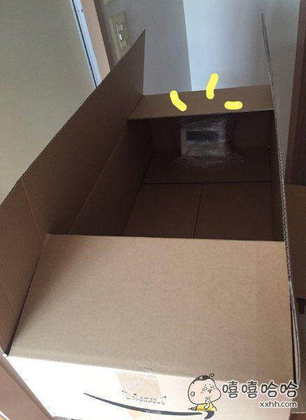 我就买了个巴掌大的充电宝,你至于给我装个这么大的箱子吗