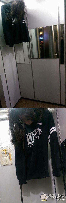 进电梯被吓死