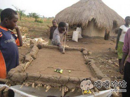 非洲人民很有才。