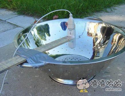 锅碗瓢盆自制卫星电视接收器,牛!