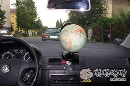 配备了先进的全球导航系统