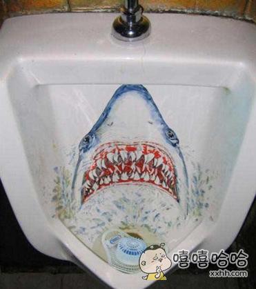 吓得我不敢尿了。。。。