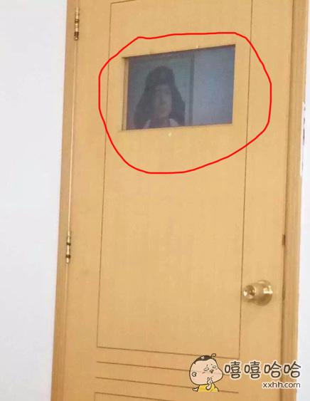 我就说一直有人在门口偷窥我,原来是雷锋叔叔~~