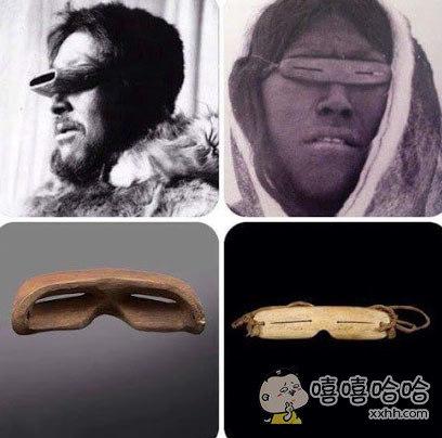 1万年前的防紫外线眼镜