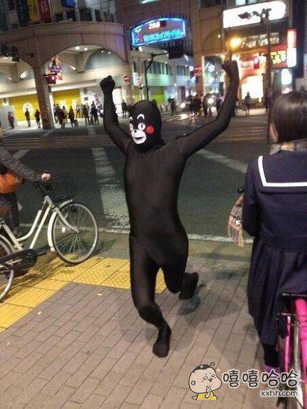 一网友在漫展上看到的熊笨熊cos。。。。。。。简直无力吐槽