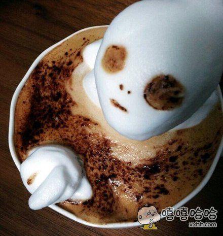 点了杯恶魔咖啡