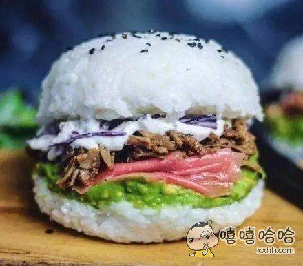 寿司汉堡。
