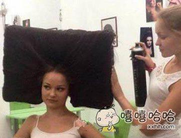 理发师说现在最流行方了