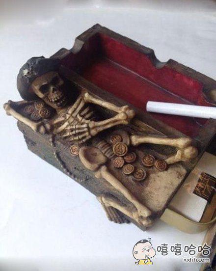 霸气的烟灰缸
