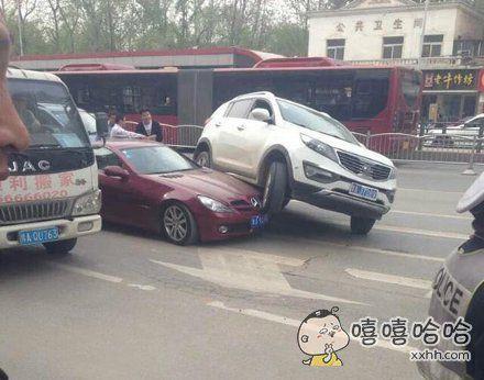 车大,明摆着欺负小车啊