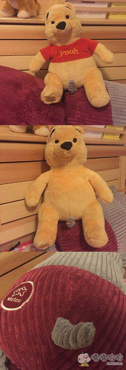 有点怪怪的维尼小熊