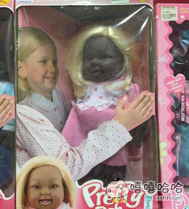 重口味,确定这娃娃不是拍恐怖片用的?