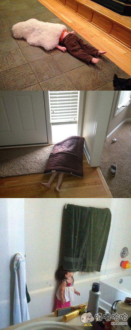 这应该是年度最难发现的躲猫猫姿势