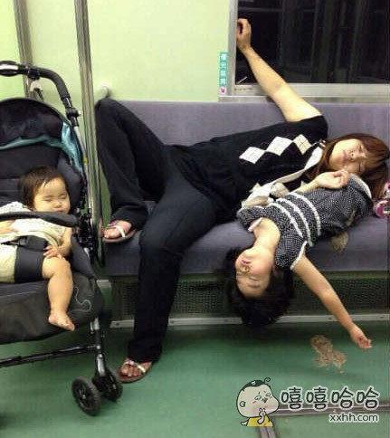 酒后,唤醒童真的睡姿