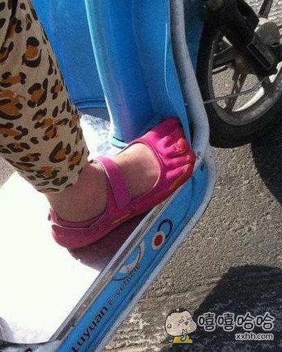 见过这样的鞋子么