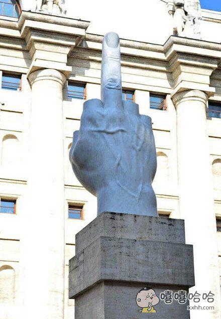 强有力的雕塑