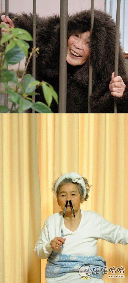 日本87岁的老婆婆西本喜美子自从接触摄影就开始上瘾,来感受一下她魔性的摄影作品