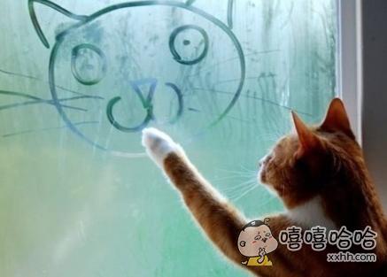 照猫画虎的!
