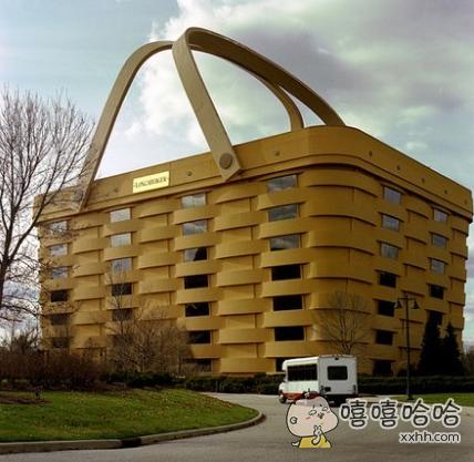 一个大型的篮子