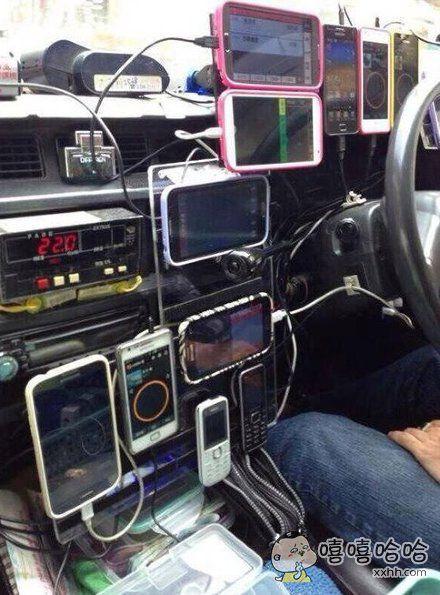 这些年,乘客拉下的手机