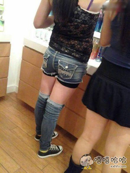 这裤子设计的好