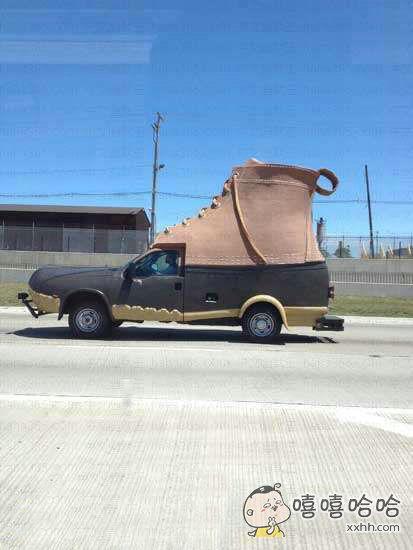 一定是鞋厂的车