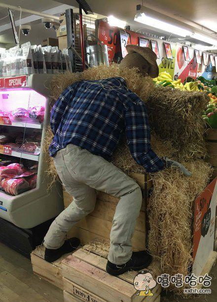 逛超市被吓个半死……这是为了庆祝母亲节?!!