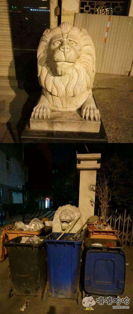 作为一只狮子,你这么不淡定真的很丢脸你知道吗?