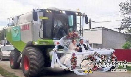 与众不同的婚车