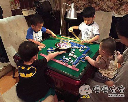 未来的赌王就从这4个孩子中选一个吧