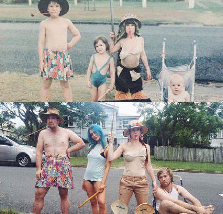 骗子,中间的妹子穿的明明不是以前那件!