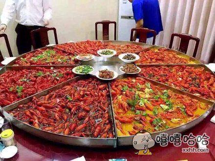 小龙虾你们最多最多能吃几只?