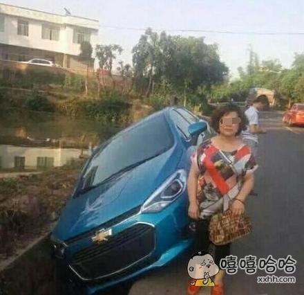 刚提的车啊,这到底神马仇神马怨啊