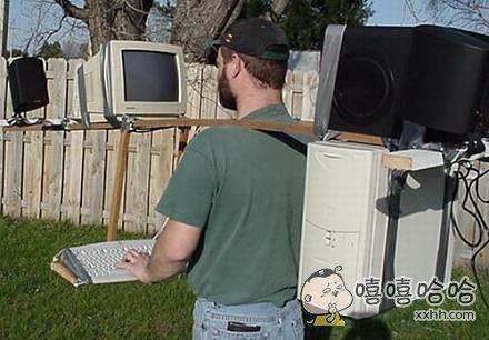 这是我的便携式电脑哦