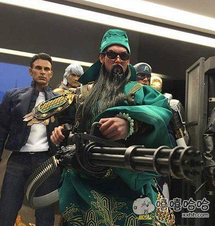中国的关公也加入到了世界英雄人物的行列了