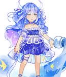 奥拉星奥拉星原创服装 水瓶神仙鱼