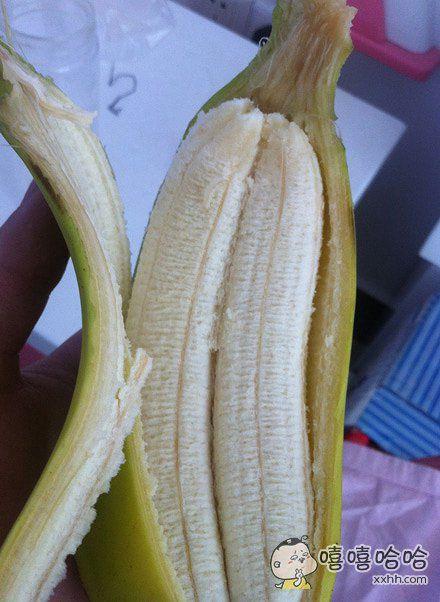 这个香蕉怀了对双胞胎啊