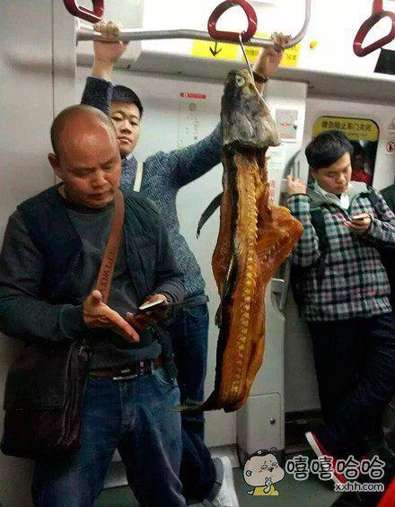 没想到死后还能坐次地铁