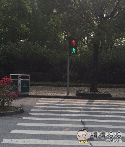 请告诉我,这是红灯还是绿灯?