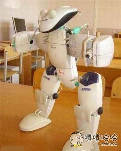 鼠标组成的机器人