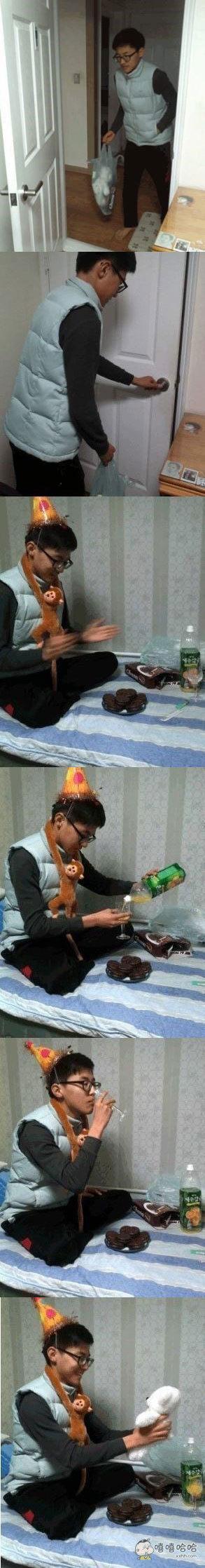 过生日就是要开心