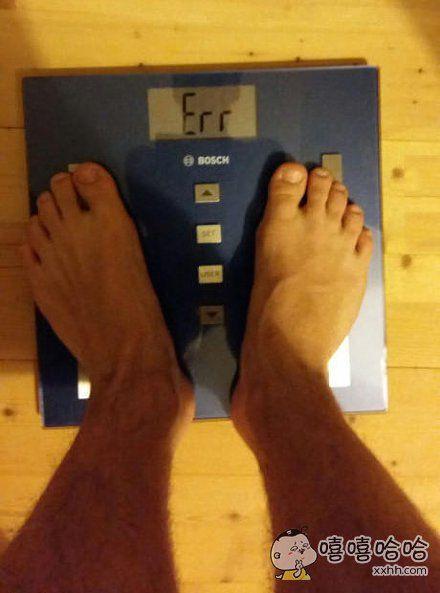 称:对不起你的体重已超出显示