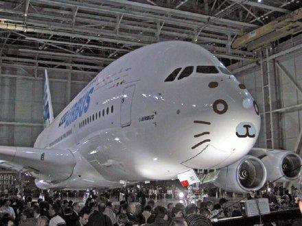 好萌的飞机……不想飞的海豹不是好胖子