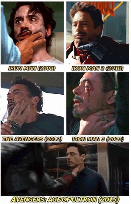 钢铁侠其实也有超能力:每部电影都会百分百空手被锁喉