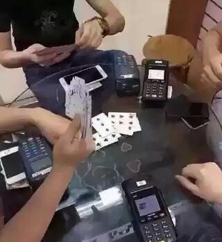 今天打牌玩点大的