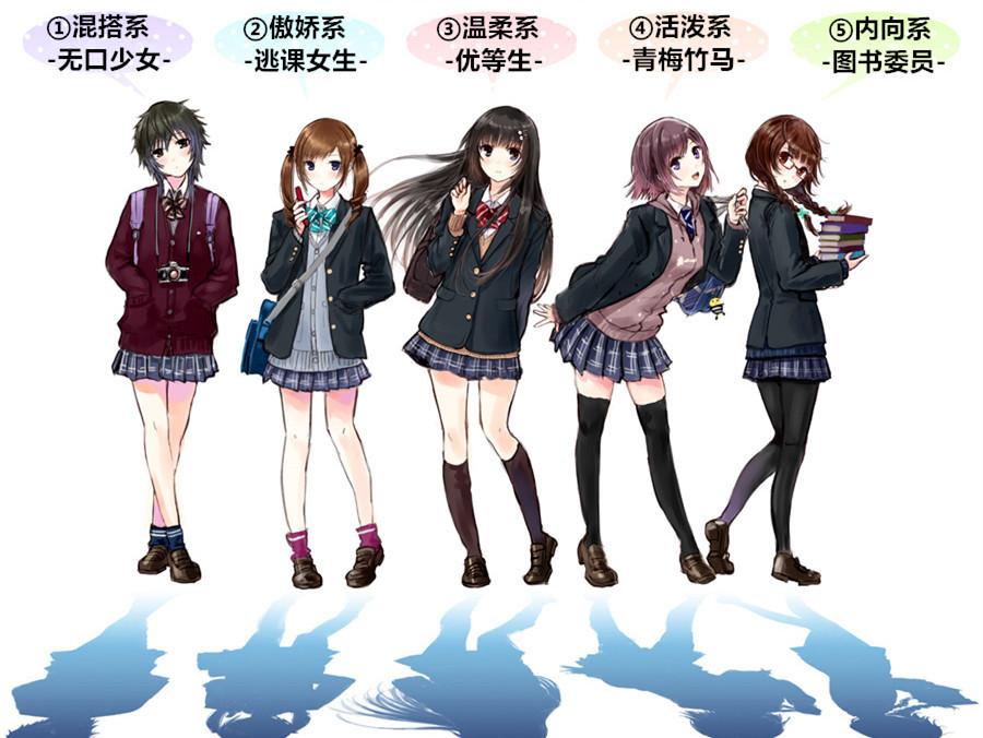 你喜欢哪种类型的JK制服女生?
